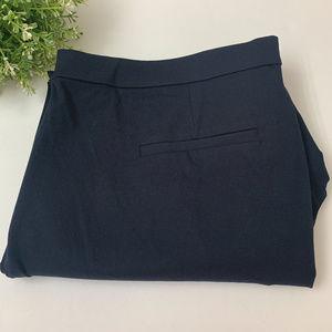J. Crew Women's Martie Cotton Blend Dress Pants 16